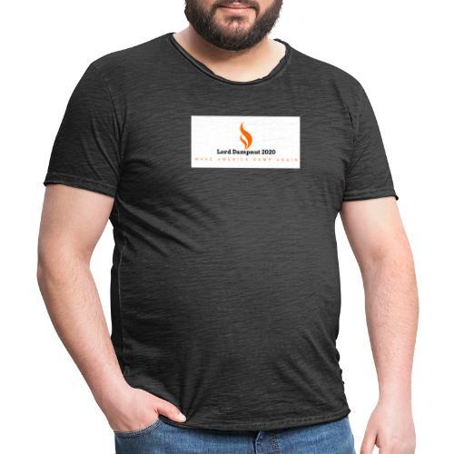 Lord Dampnut 2020 - T-shirt vintage Homme