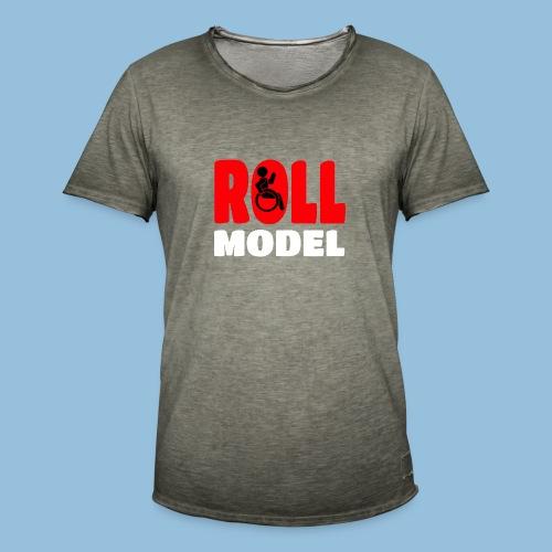 Roll model 015 - Mannen Vintage T-shirt