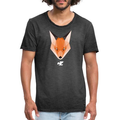 CZ X GEOMETRICAL FOX - Camiseta vintage hombre