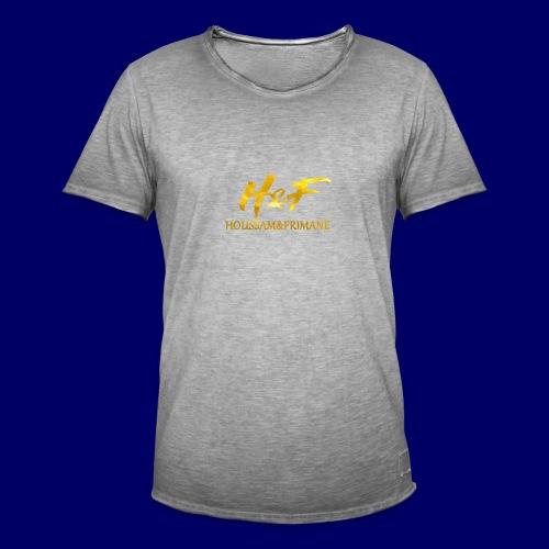 h f gold2 - Maglietta vintage da uomo