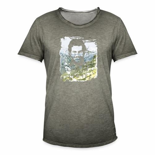 Pablo Escobar distressed - Männer Vintage T-Shirt