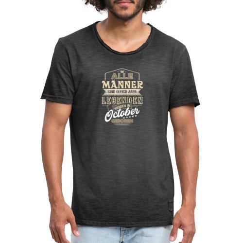 Mann Männer Legende Geburtstag Geschenk B-Day Mai - Männer Vintage T-Shirt