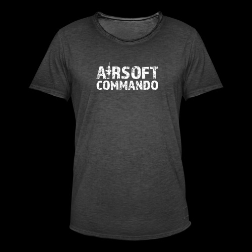Airsoft Commando - Männer Vintage T-Shirt
