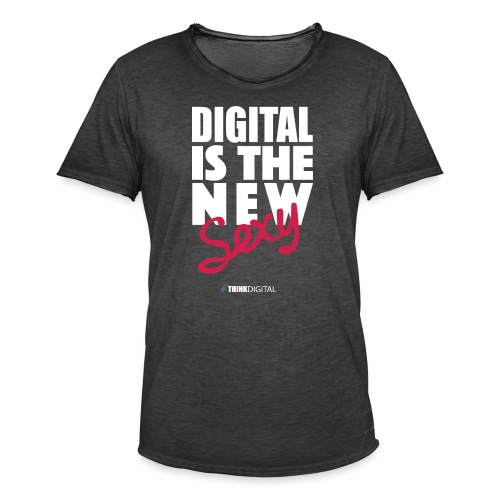 DIGITAL is the New Sexy - Maglietta vintage da uomo
