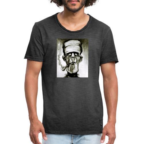 FRANKIART.00 - Camiseta vintage hombre