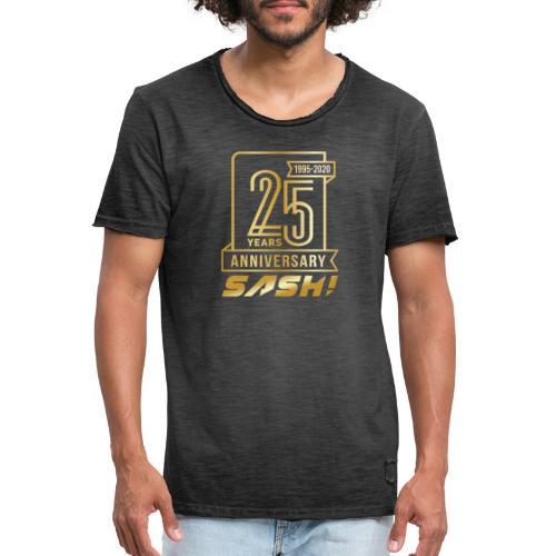 SASH! 25 Years Annyversary - Men's Vintage T-Shirt
