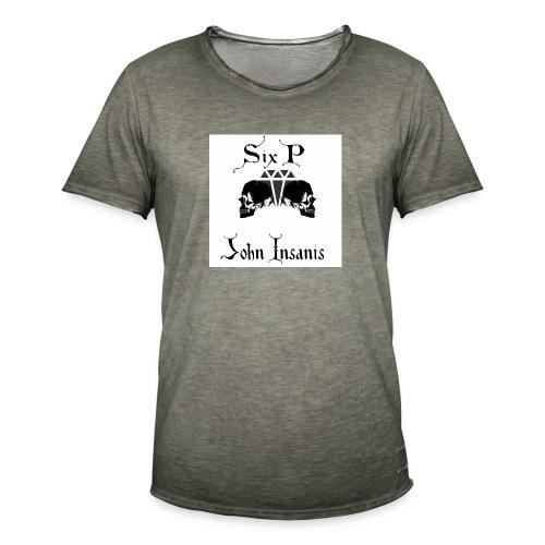 Six P & John Insanis New T-Paita - Miesten vintage t-paita