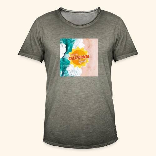 California Spirit Surfin - T-shirt vintage Homme