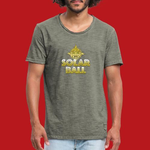 Solar Ball - T-shirt vintage Homme