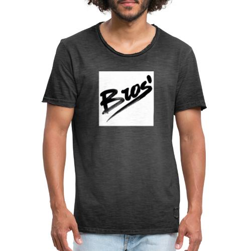 bros - Vintage-T-shirt herr