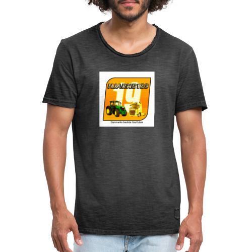 hjarne 123 danmarks bedeste youtuber - Herre vintage T-shirt