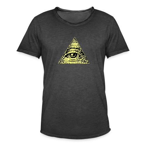 Illuminati - Vintage-T-shirt herr