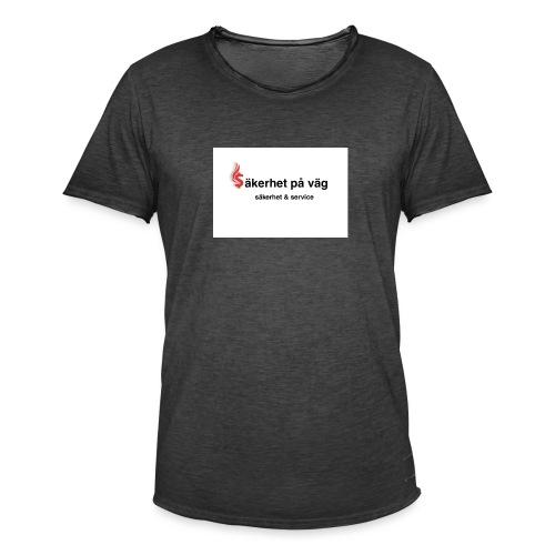 SakerhetPaVag - Vintage-T-shirt herr