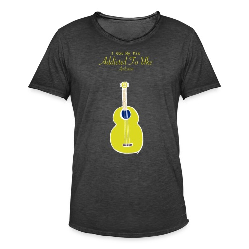 Addicted To Uke Spring 2018 Souvenir - Men's Vintage T-Shirt