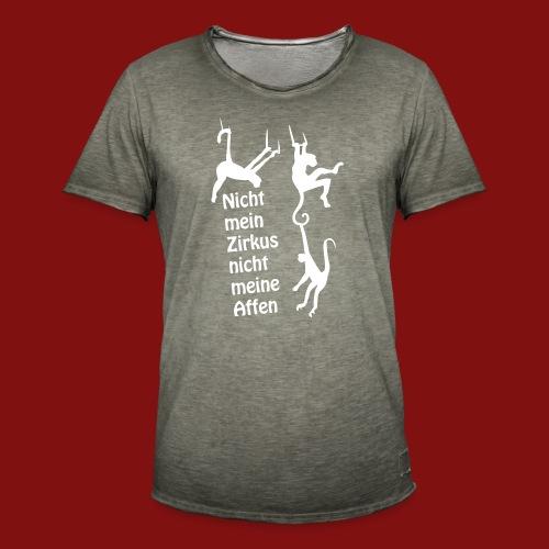 Nicht mein Zirkus - Männer Vintage T-Shirt