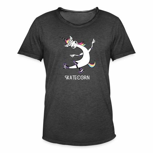 Skatecorn - Männer Vintage T-Shirt