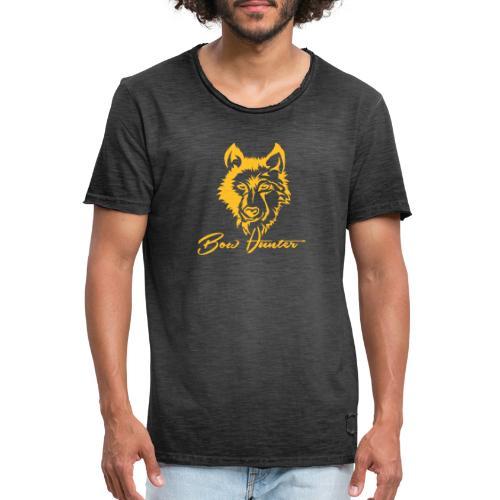Wolf - Männer Vintage T-Shirt