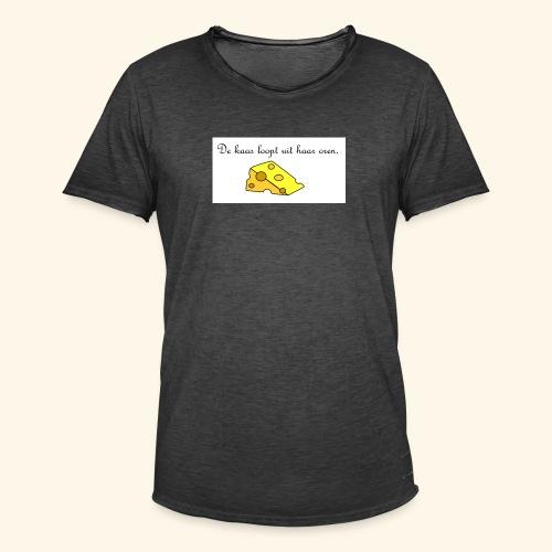 Kaas loopt uit haar oren - Temptation - Mannen Vintage T-shirt