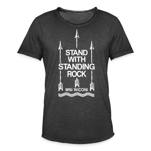 Stand - Herre vintage T-shirt