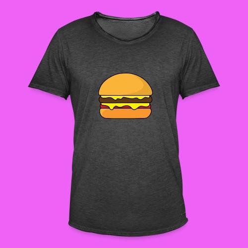 Tasty Burguer - Camiseta vintage hombre