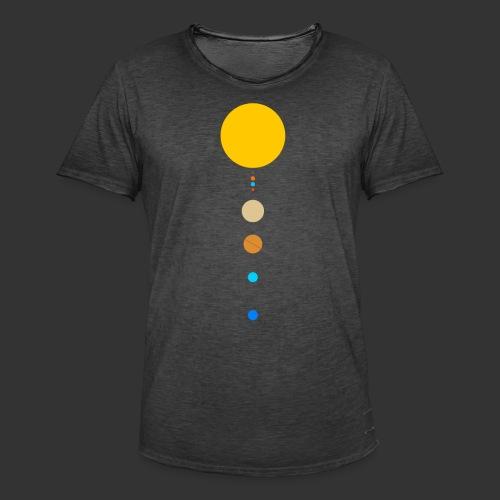 Solar System - Men's Vintage T-Shirt