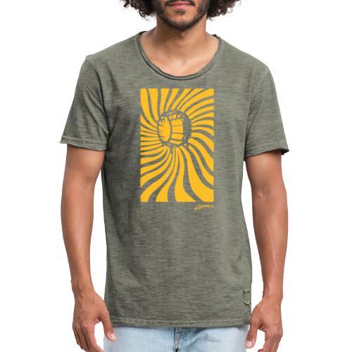 wirbel - Männer Vintage T-Shirt