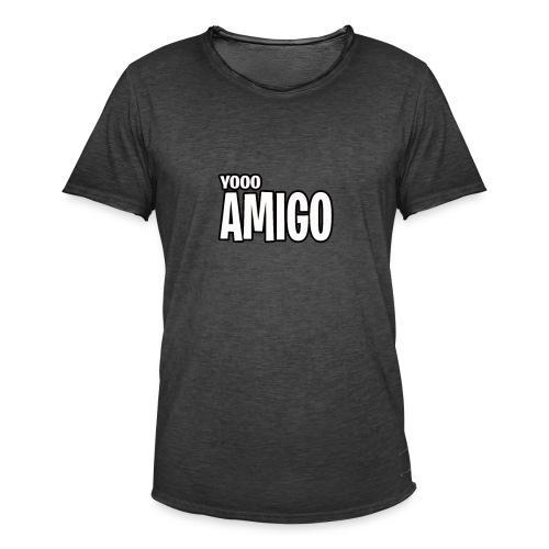 yoooo amigo - Men's Vintage T-Shirt