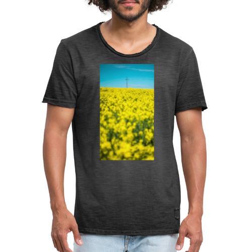 Rapsfeld - Männer Vintage T-Shirt
