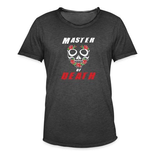 Master of death - white - Koszulka męska vintage
