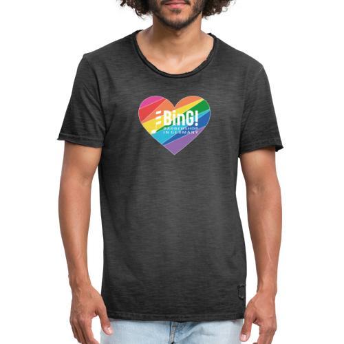 BinG Love Color - Männer Vintage T-Shirt