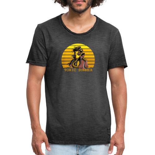 Toxic Summer - Camiseta vintage hombre