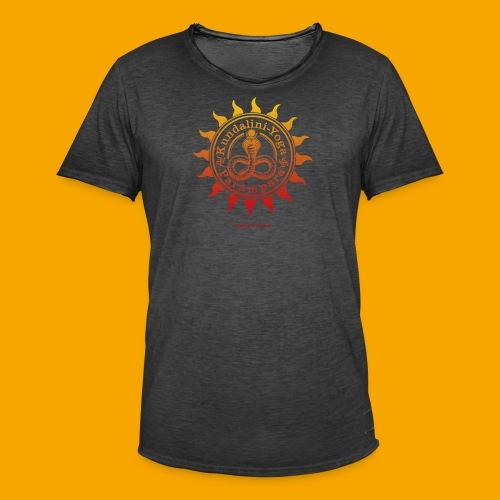 KUNDALINI-YOGA-PARAMPARA SUN - Männer Vintage T-Shirt