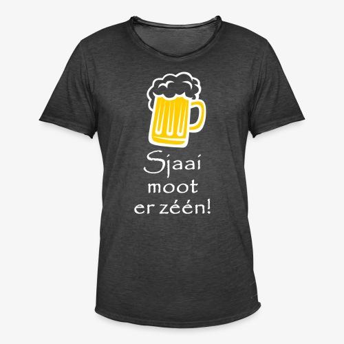 Sjaai moot er zéén - Mannen Vintage T-shirt
