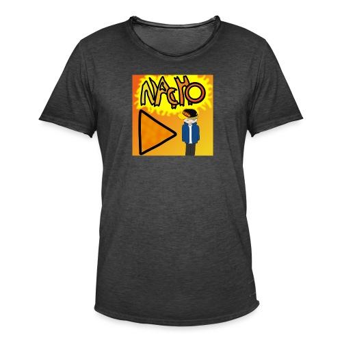 Nacho Title with Little guy - Men's Vintage T-Shirt