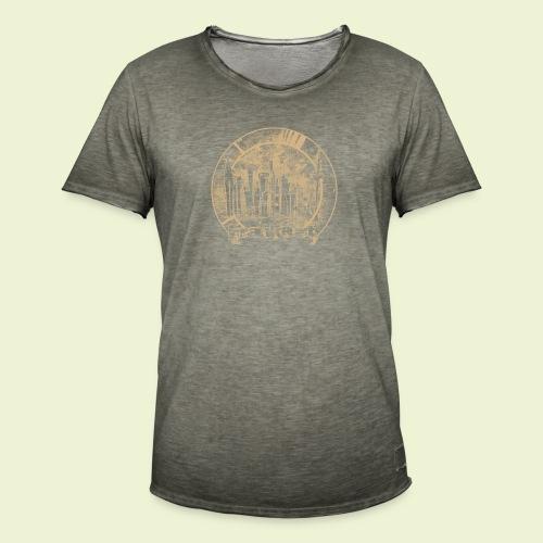 FFM Skyline R - Männer Vintage T-Shirt