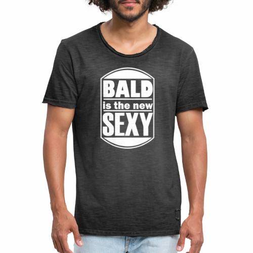 Bald is the new Sexy - Mannen Vintage T-shirt