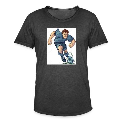 41982995-Vector-de-dibujos-animados-ilustraci-n-de - Camiseta vintage hombre