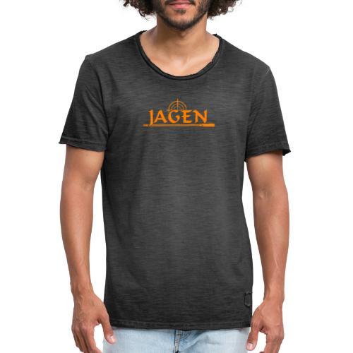 Jagen Jäger Jägerin Jagd Liebhaber Geschenk - Men's Vintage T-Shirt