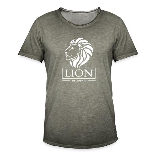 Lion of Judah - Rastafari - Männer Vintage T-Shirt