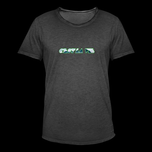 C'est la vie - Herre vintage T-shirt