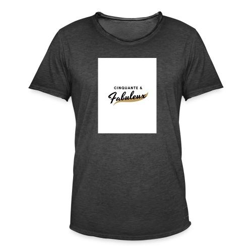 Cinquante - T-shirt vintage Homme