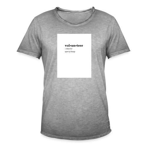 Volontaire - T-shirt vintage Homme