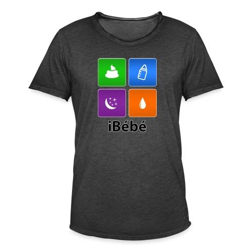 iBébé - T-shirt vintage Homme
