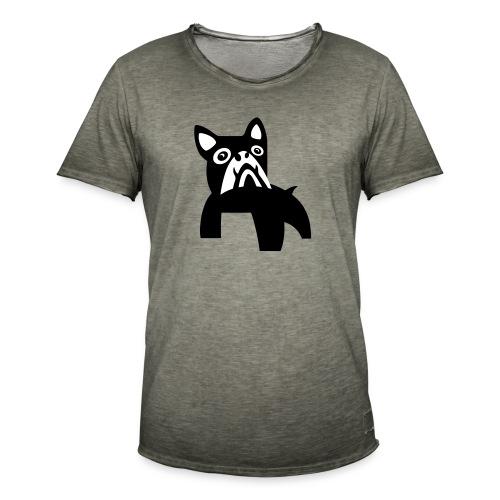 MadDog_kunst mit hund_2fa - Männer Vintage T-Shirt