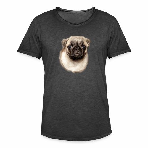 Mops - Männer Vintage T-Shirt
