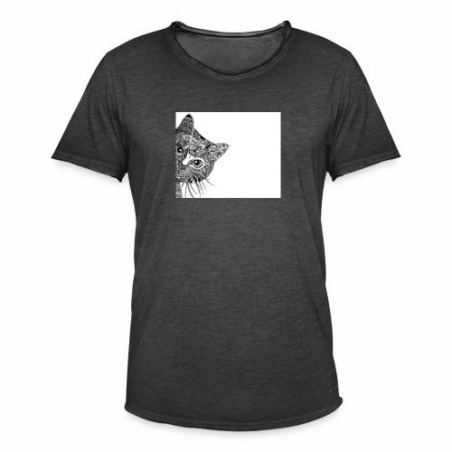 mandalas con animales 8 - Camiseta vintage hombre