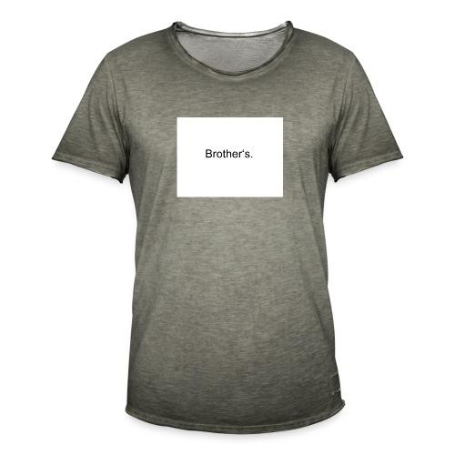 8 - Männer Vintage T-Shirt