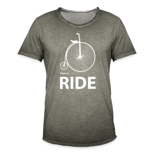 Born To Ride - Men's Vintage T-Shirt