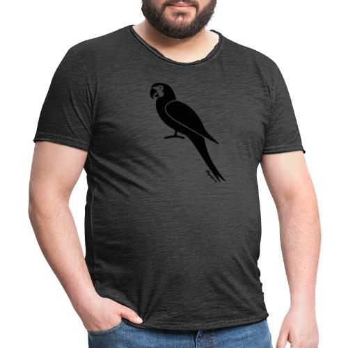 Klagenfornia Parrot - Männer Vintage T-Shirt