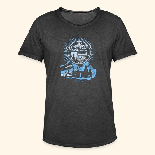 Wuppertal T Shirt Design - Männer Vintage T-Shirt